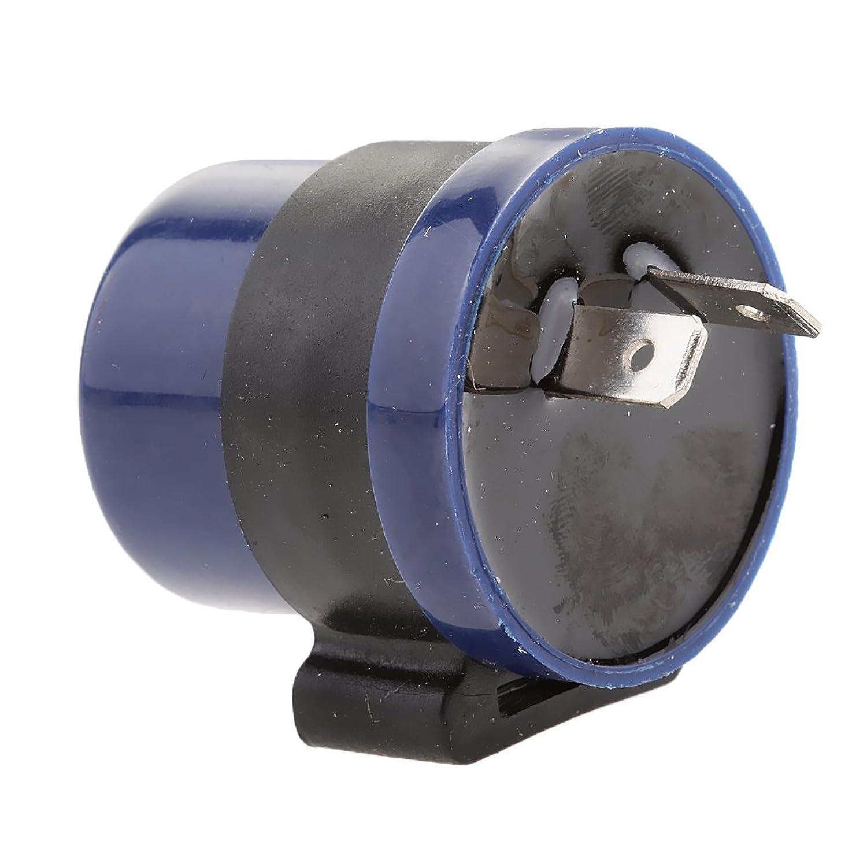 [ルボナリエ] ハーレー ウィンカー ドラッグスター スポーツスター ソフテイル LED 4個セット 砲弾型 ブラック 汎用 (4個セット)