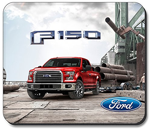 F150 Lariat (Art Plates brand Mouse Pad - Red Ford F-150)