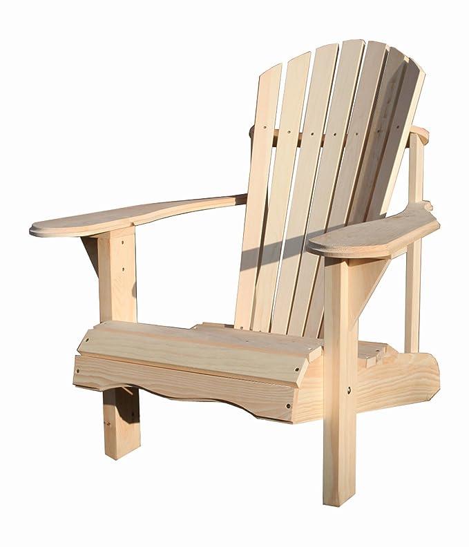 Adirondack Chair Von Botillabo Direkt Aus Kanada Aus Kanadischer Kiefer Mit Extra Breiten Vorderbeinen