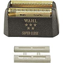 Wahl WA-7043 - Cuchilla de afeitar con lámina de oro hipoalergénico: Amazon.es: Salud y cuidado personal