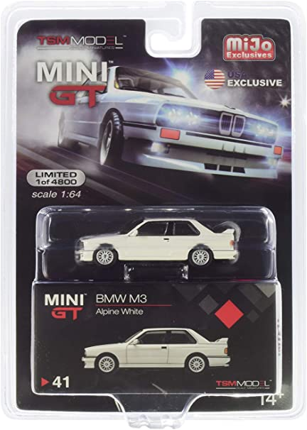 M3 (E30) Alpine White Limited Edition to 4,800 Pieces Worldwide 1/64 Diecast Model Car by True Scale Miniatures MGT00041