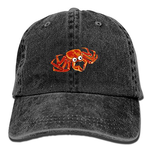 Moonmoon Unisex Hairy Crabs Personal Group Sports Cowboy Cap Peaked Baseball Cap (Hairy Cowboy)
