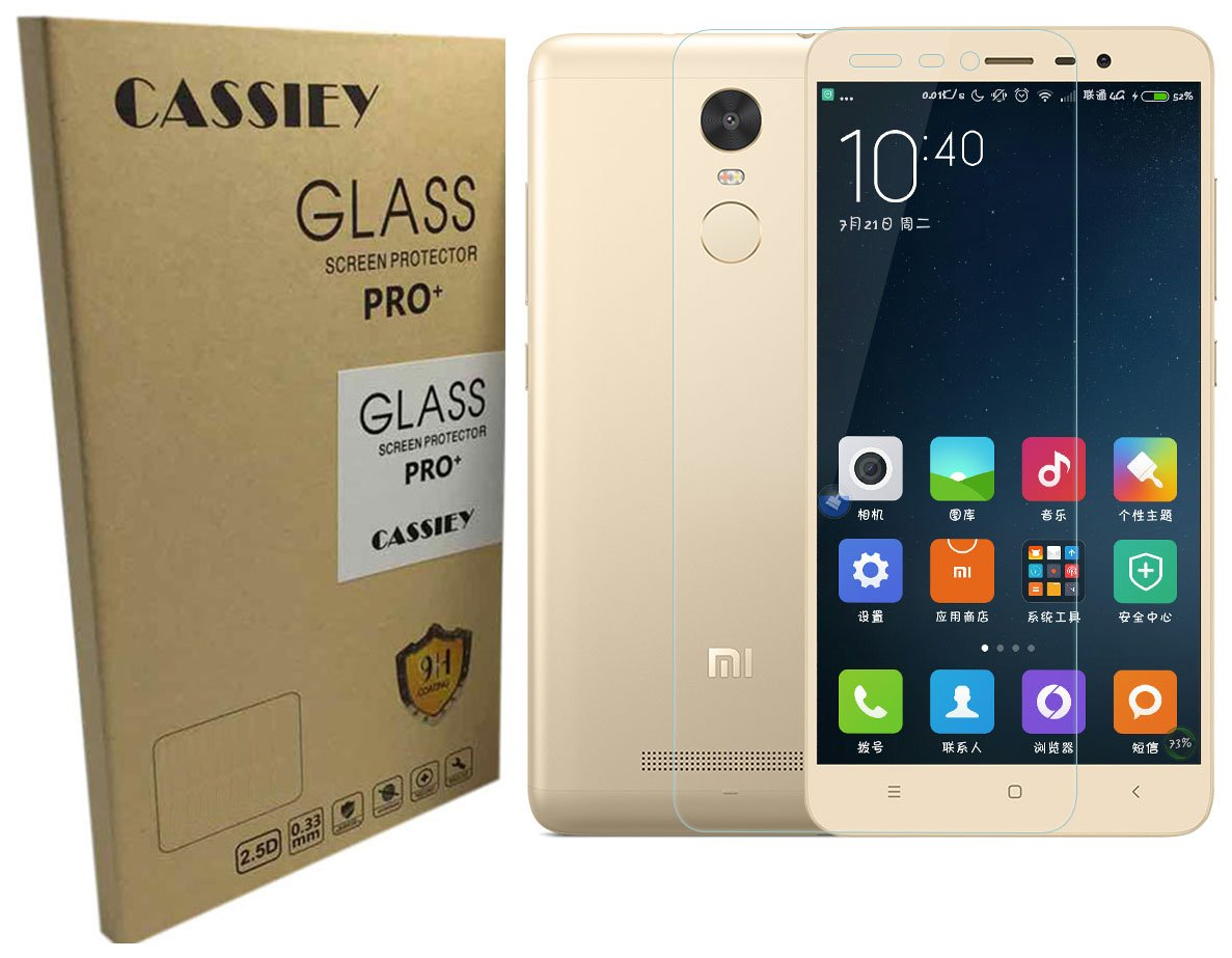 Cassiey Tempered Glass 25d Curved Edge Ultra Hd And 9h Full Layar Xiaomi Redmi Pro Electronics