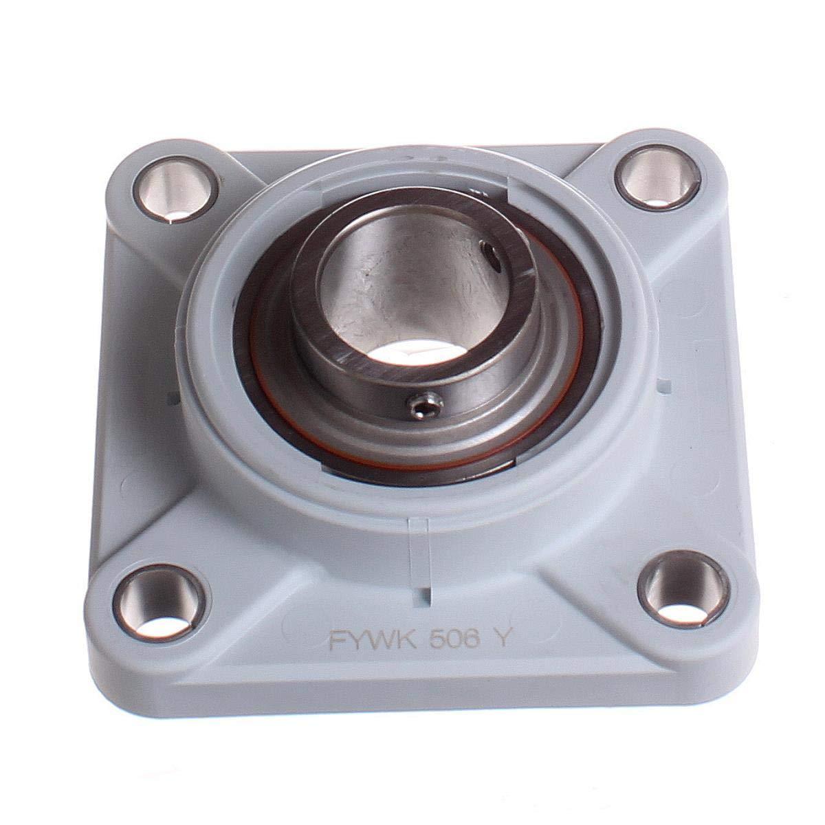 SKF - Rodamiento de inserción para unidad de rodamiento, 30 ID, acero inoxidable