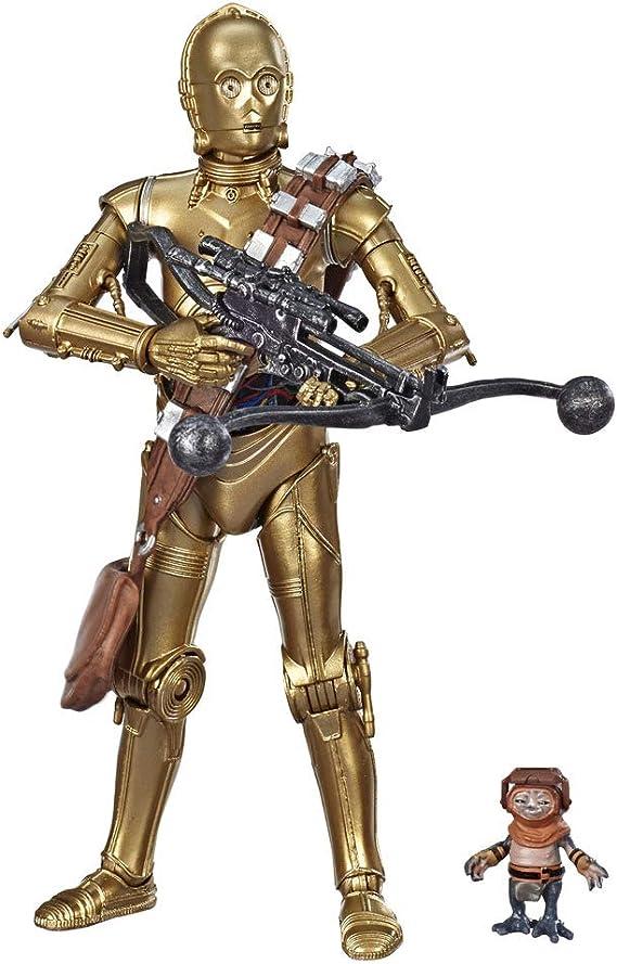 Star Wars - Pack de 2 figuras de 15 cm de C-3PO y Babu Frik de Black Series (Hasbro E7203EU4): Amazon.es: Juguetes y juegos