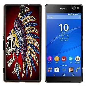 Dragon Case - FOR Sony Xperia C5 Ultra - No wisdom like silence - Caja protectora de pl??stico duro de la cubierta Dise?¡Ào Slim Fit