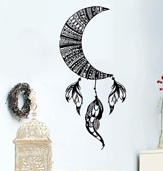 Luna Pared Calcomanía Decoración Extraíble Vinilo Pegatina