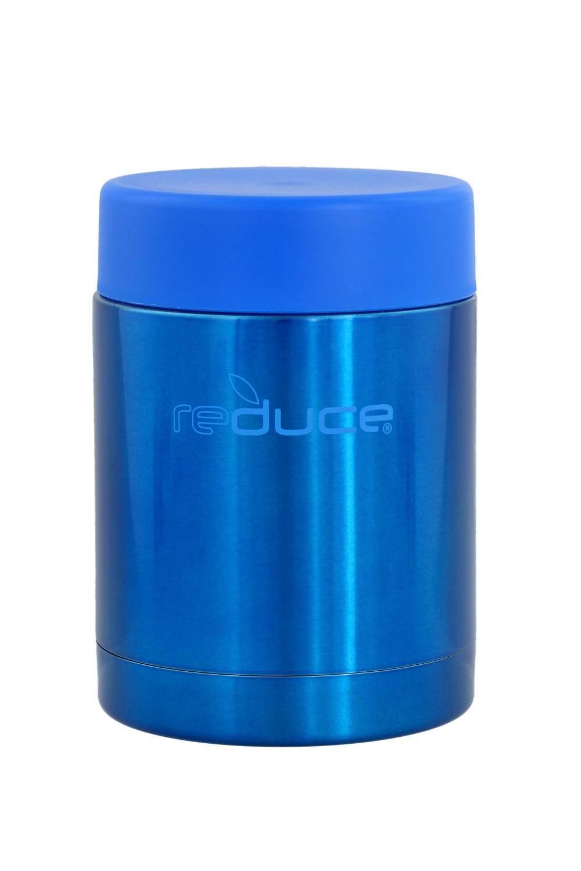 reduce Vacuum Insulated Stainless Steel Food Jar, 300ml - Metallic Blue B079XDC467 10オンス|メタリックブルー メタリックブルー 10オンス