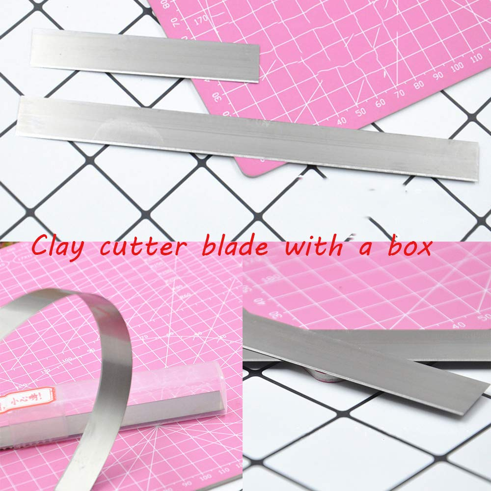 Modeling Ceramic Tools Polymer Stainless Steel Fimo Slicer Clay Cutter Blade