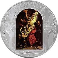 VOSAREA Moneda Conmemorativa Jesucristo Religión Metal Hierro Antiguo