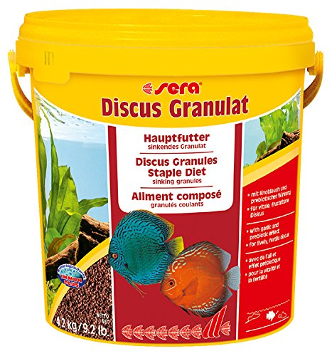 Sera 1 Piece Discus granules Fish Food, 9.2 lb/2 kg
