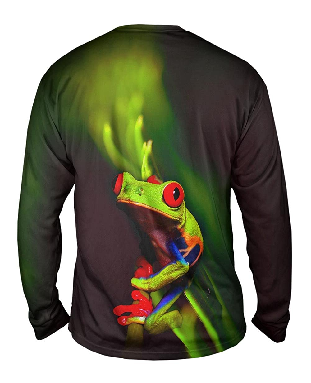 Mens Long Sleeve Yizzam Frog 001 TShirt