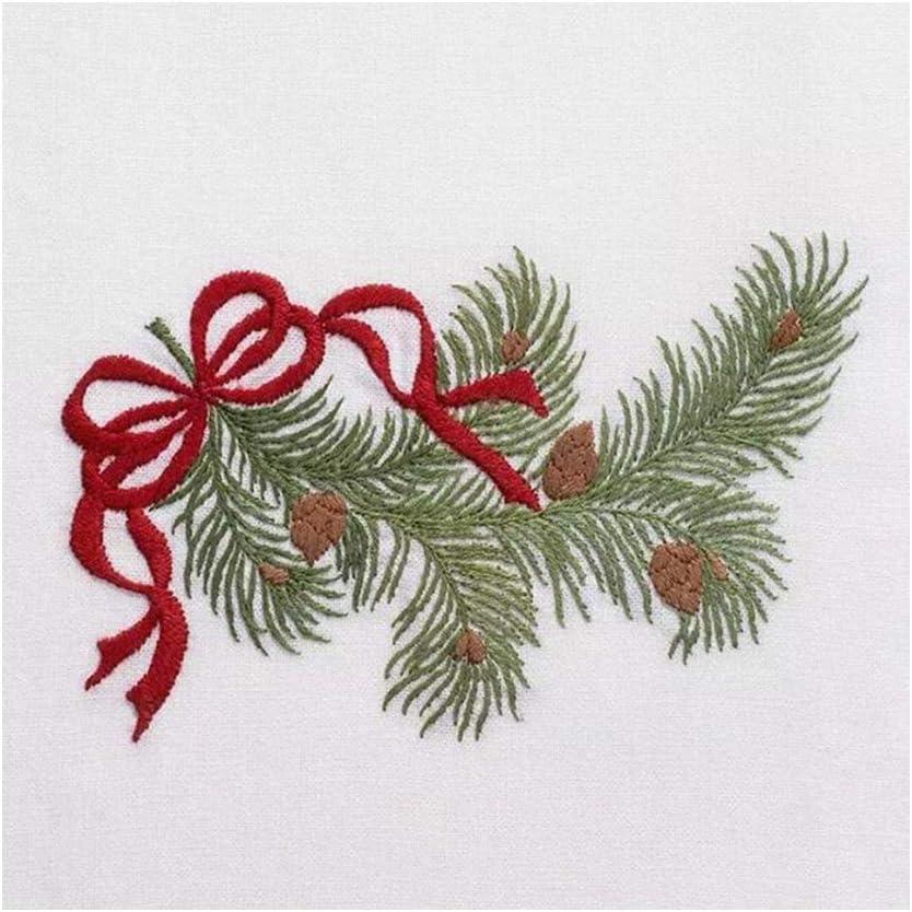 2 IPOTCH Kreuzstich Stickerei DIY Handarbeit Stickpackung Set vorgezeichnete Stickbild zum Sticken /& Weihnachten Stickset mit Stickvorlage