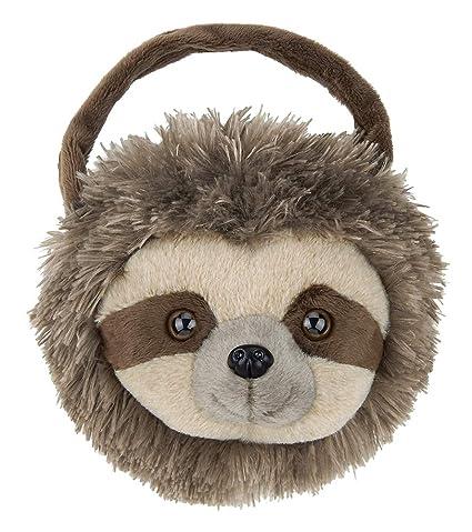 Amazon Com Bearington Speedy Carrysome Girls Plush Sloth Stuffed