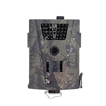 Juego de Trail Camera1080P Impermeable Caza Scouting cámara para monitoreo de Vida Silvestre con Movimiento Activado