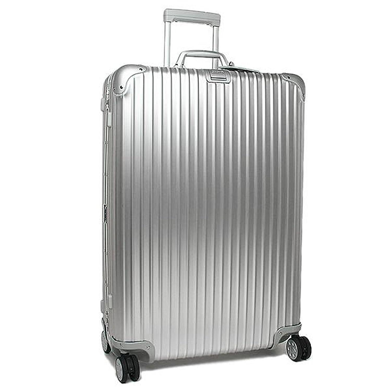 (リモワ) RIMOWA リモワ スーツケース RIMOWA 923.77.00.4 TOPAS トパーズ 81.5CM 98L 10泊用 4輪 TSAロック付 キャリーケース SILVER [並行輸入品] B01DVHOL62