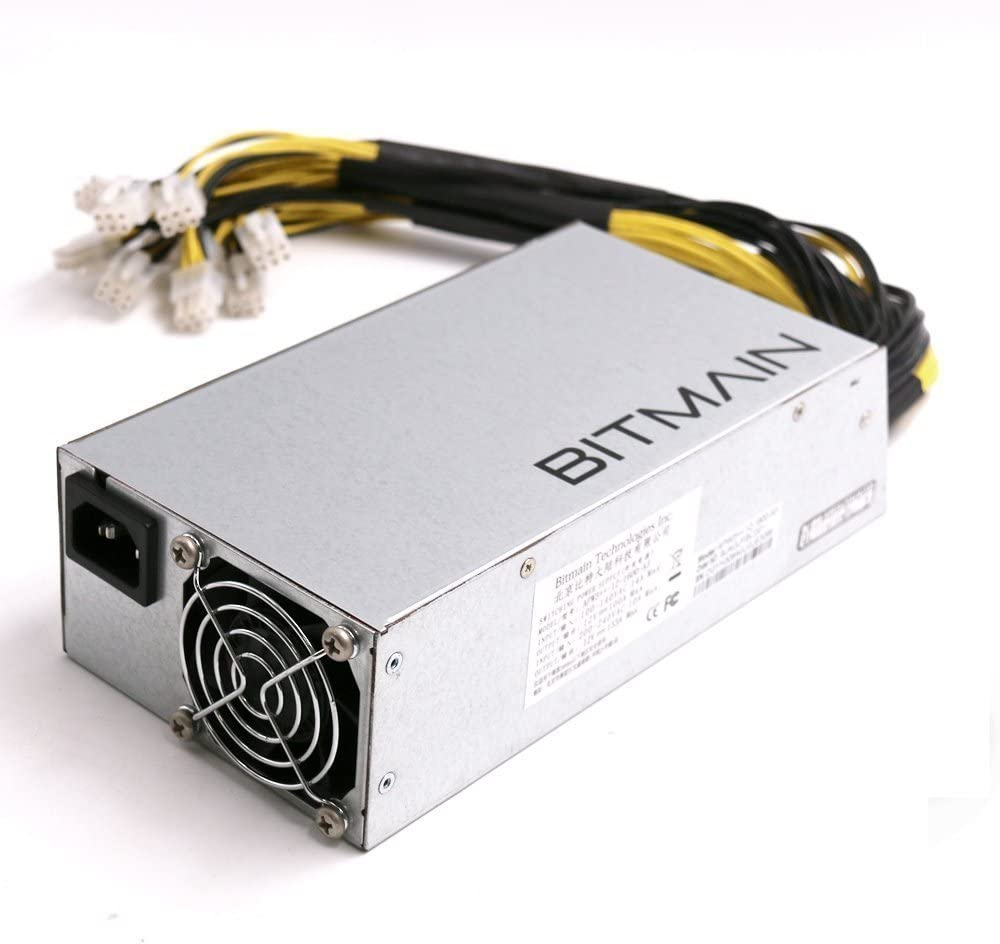 Antminer Power Supply APW3++ for S9 or L3+ or D3 w/ 10 Connectors