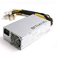Bitcoin Miners Antminer S9 L3 D3 alimentazione APW3++ PSU in magazzino spedizione rapida 1200 W @ 110 V 1600 W @ 220 V