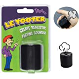 SHENGSEN Novelty Squeeze Pooter Fart Machine Funny Le Tooter Prank Farting Noise Maker for Joke Party Gift Toy