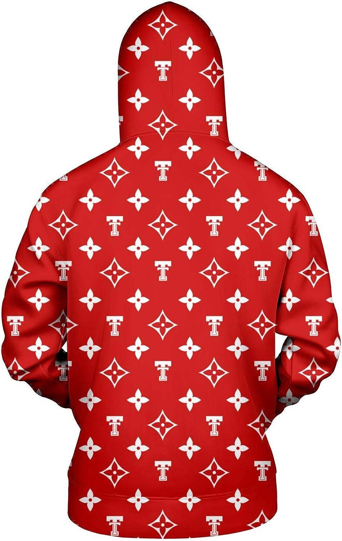TYUING 3D Printed Mens Hoodie Streetwear Knit Winter Long Sleeve Hoody Sweatshirts