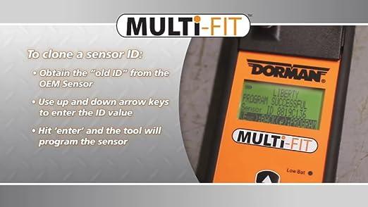 Dorman 974-001 Dorman DiRECT-FIT 315 MHz Tire Pressure Monitoring System Sensor for Select Models