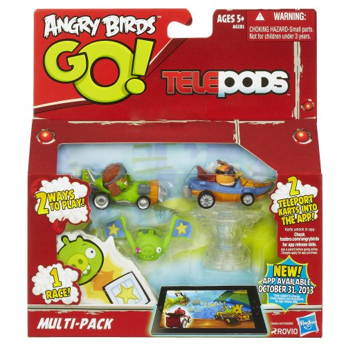 Angry Birds Go Telepods Multi-Pack (Best Go Karts In Houston)