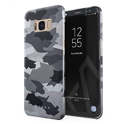 Amazon.com: burga Samsung Galaxy S8 Plus Caso, Blanco Nieve ...