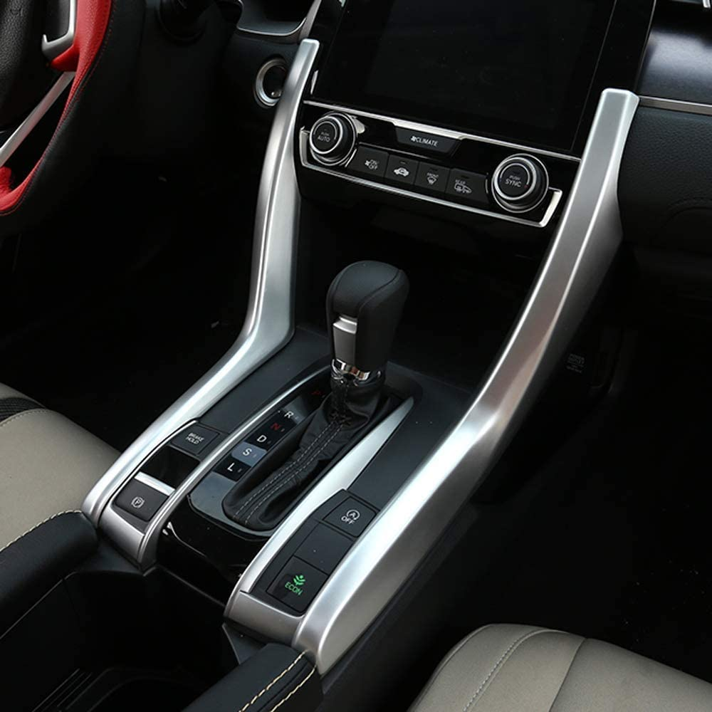 Aizfa 1pcs Carbon Fiber Center Console shift Gear Panel Frame ...