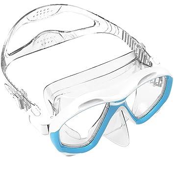 ZIONOR M2 Máscara de Buceo Compatible con Lente Correctiva de Pescripción Desmontable para Snorkeling Buceo