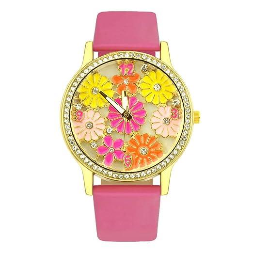 Un Reloj de Mujer,Reloj de Cuarzo Trend Style diseño Retro y Reloj ...