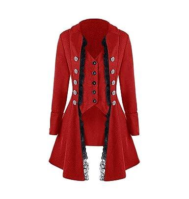HEVÜY - Disfraz de corpiño para Mujer con Falda asimétrica de ...