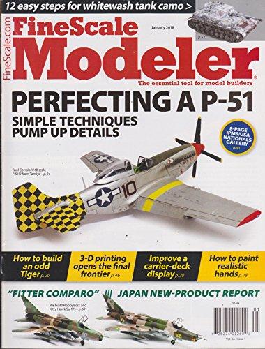 Fine Scale Modeler January 2018 Vol.36. Issue (Fine Scale Modeler)