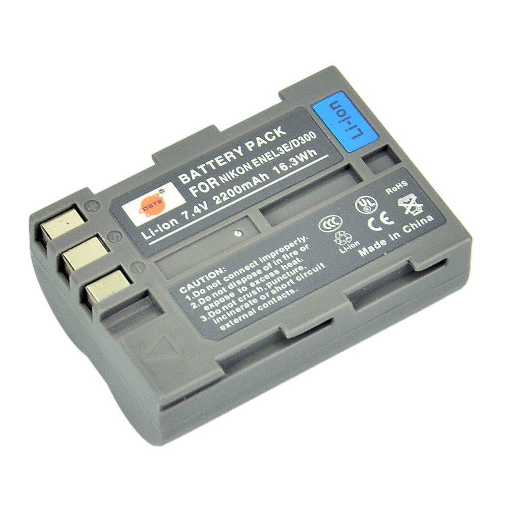 DSTE® EN-EL3e Ricaricabile Li-ion Batteria per Nikon D30 D50 D70 D70S D90 D80 D100 D200 D300 D300S D700 Macchina Fotografica DST Electron Technological Co. Ltd DANK03