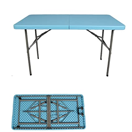 Amazoncom MS Tables Folding Table Outdoor Long Table Simple Office - Portable conference table