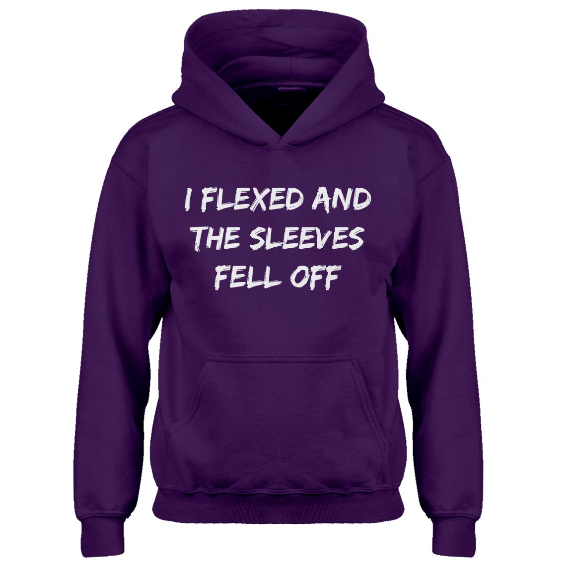 Indica Plateau Youth I Flexed and The Sleeves Fell Off Kids Hoodie