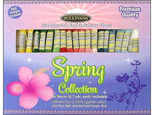 Sullivans Emb Floss Pack 36 Skeins Spring