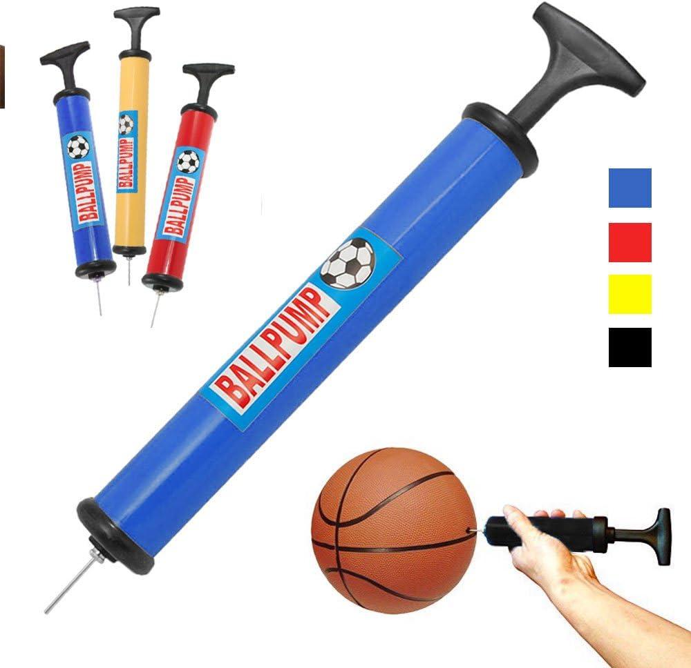 Dual Use Soccer Basketball Inflator Hand Inflatable Sport Ball Balloon Air Pump