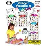 Webber Vocalic R Bingo - Super Duper Educational Learning Toy for Kids