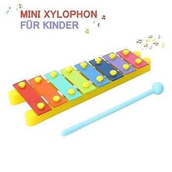 8 Tasten Xylophon Glockenspiel Schlagzeug Spielzeug Musikinstrumente mit Sonstige