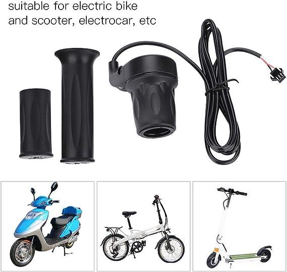 Standard Universal E-Bike Throttle Grip Speed Control Twist EBike Component