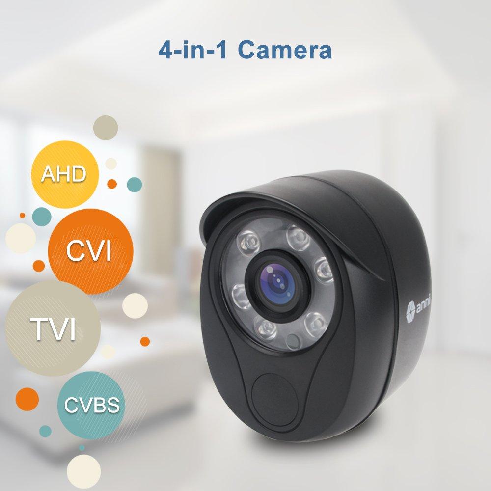 "Security Camera,1/4"" CMOS 720P HD 2000TVL Outdoor/Indoor Home Surveillance CCTV Bullet Camera with IR Cut-80ft IR Night Vision, IP66 Waterproof"