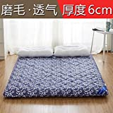 HXYL Folding Tatami Floor Mat Mattress Pad Bed Double Sleeping Tweezers Futon Protector For Lazy People-B 100x200cm(39x79inch)