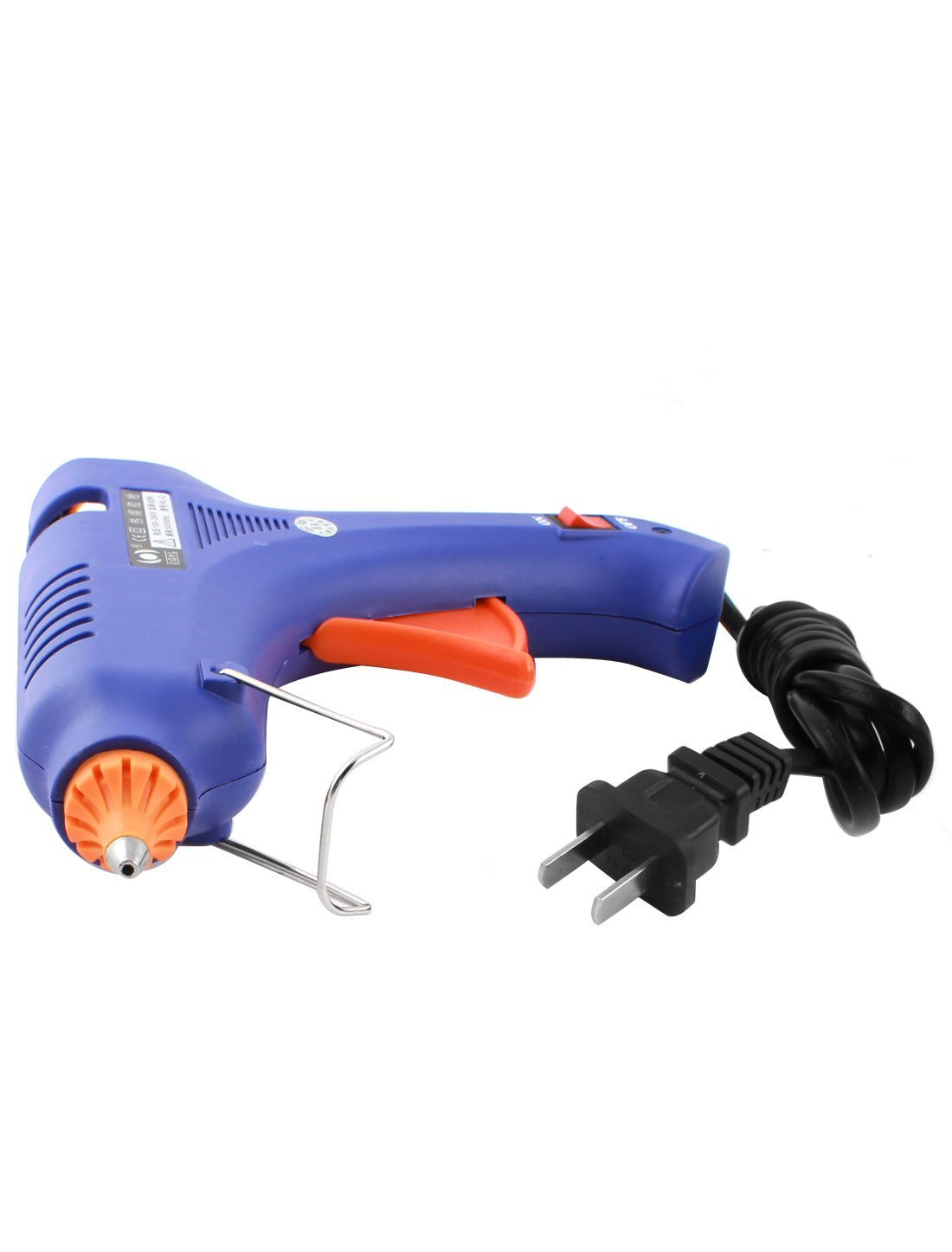 CA 100-240V spina USA 60W 2,5 millimetri conici ugello Hot Melt Glue Gun HL-C