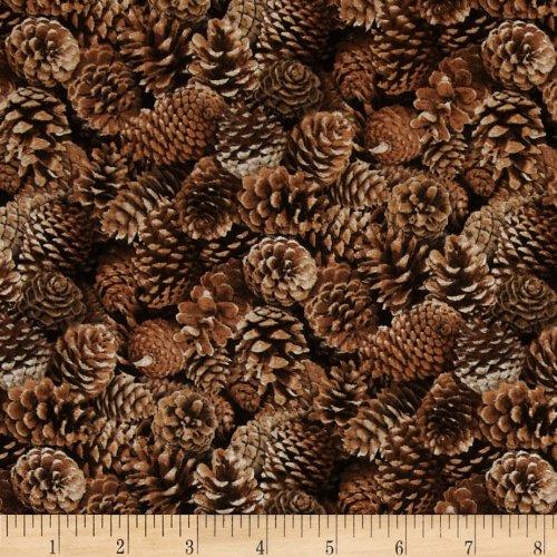 pine cone fabric - 1