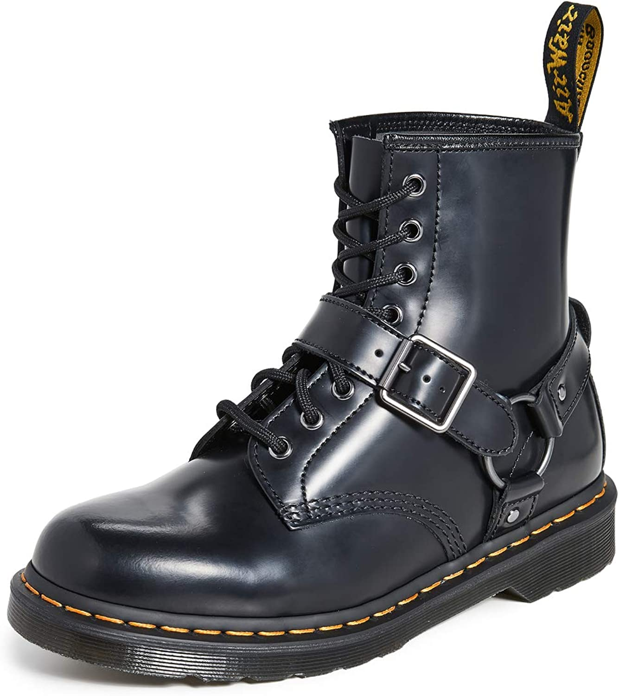 Dr. Martens 1460 Botas con arnés para Mujer: Amazon.es: Zapatos y ...