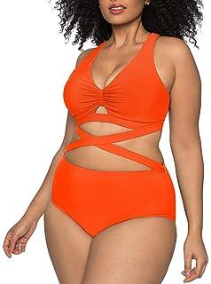 Amazon.com: Sovoyontee traje de baño para mujer, talla ...