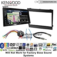 Volunteer Audio Kenwood Excelon DNX694S Double Din Radio Install Kit with GPS Navigation System Android Auto Apple CarPlay Fits 2004-2006 Pontiac GTO