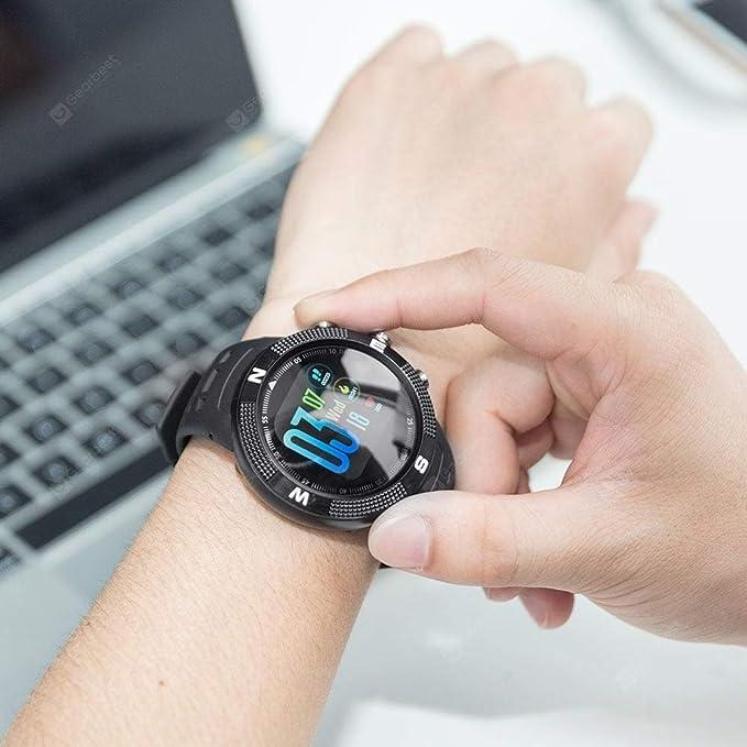 NO.1 F18 Sports Smartwatch Reloj Inteligente Deporte: Amazon ...