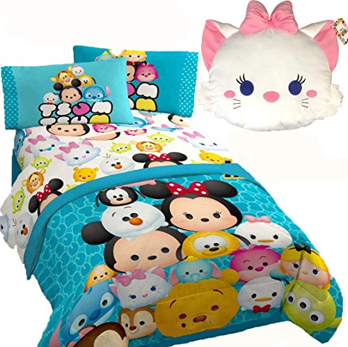 - Jay Franco DISNEY TSUM TSUM 'All Mashed Up' Multi Color Twin/Full Size Comforter(71