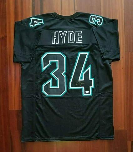 newest 54e6b 1d9fd Autographed Carlos Hyde Jersey - Jacksonville Jaguars - JSA ...